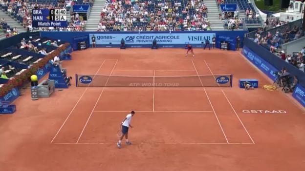Video «Matchball von Hanescu gegen Brands» abspielen