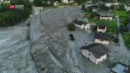 Video «Nach Bergsturz: Suche nach Vermissten geht weiter» abspielen
