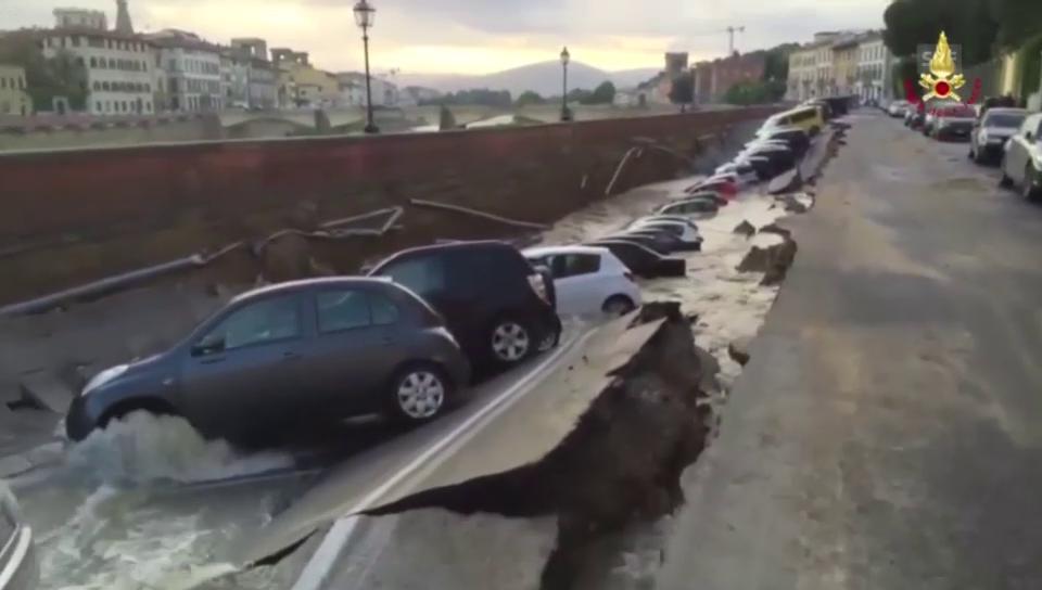 Böse Überraschung für Autobesitzer in Florenz