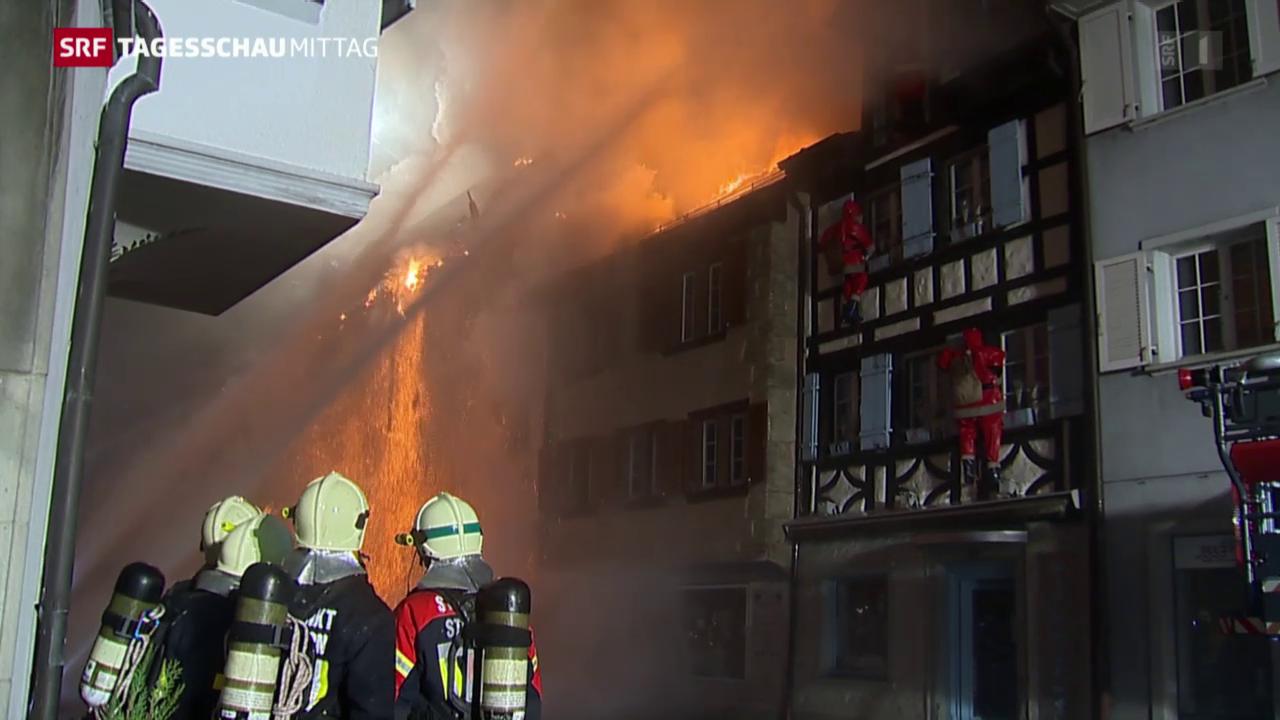 Grossbrand in Steckborn