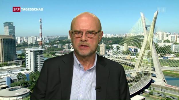 Video «Ulrich Achermann zur Absetzung Rousseffs» abspielen