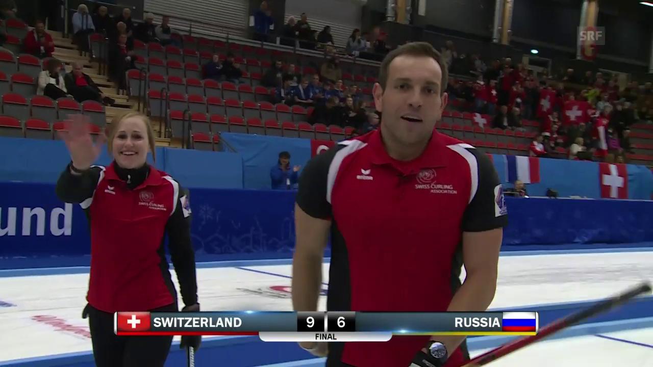 Schweizer Mixed-Curler holen WM-Gold