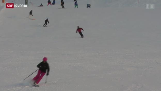 Video «Mehr Knochenbrüche bei Wintersportunfällen» abspielen