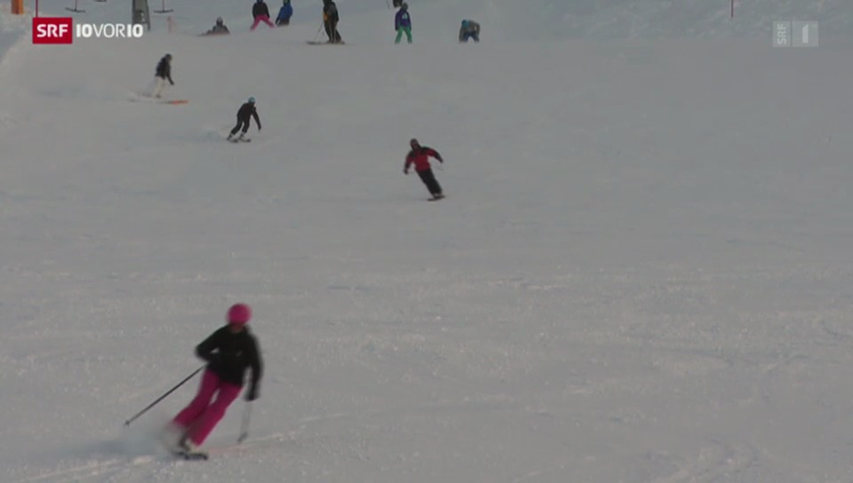 Mehr Knochenbrüche bei Wintersportunfällen