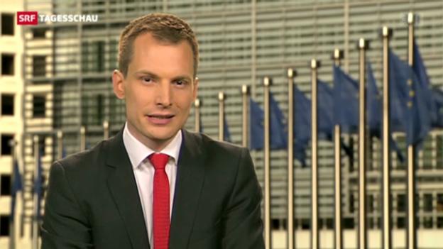 Video «SRF-Korrespondet Projer über den EU-Entscheid» abspielen