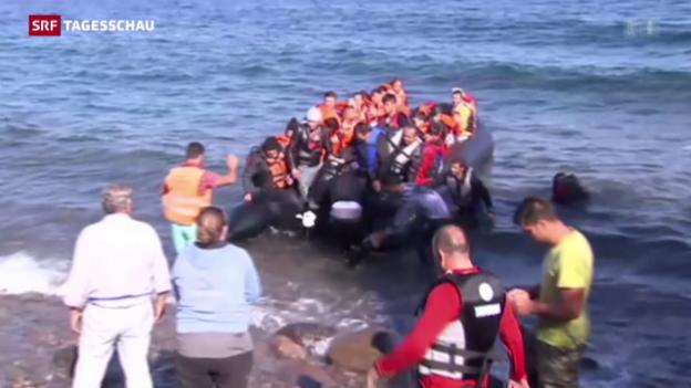 Video «Flüchtlingskrise: Gespräche in Brüssel» abspielen