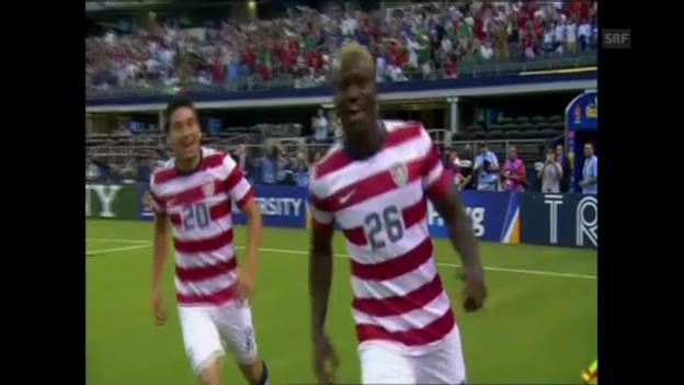 Video «Highlights USA - Honduras (unkommentiert, Quelle: SNTV)» abspielen
