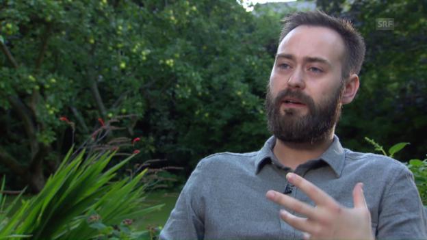 Video «Benjamin Cleary über «Stutterer» als universelle Geschichte» abspielen