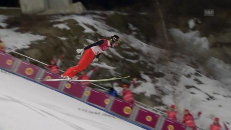 Link öffnet eine Lightbox. Video Ammann: «Lebe das Skispringen wie eh und je» abspielen