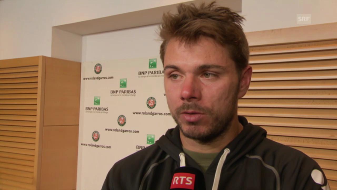 Tennis: Wawrinka nach seinem Erstrunden-Out in Paris