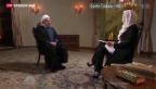 Video «Iranischer Präsident Hassan Rohani setzt auf Entspannung» abspielen
