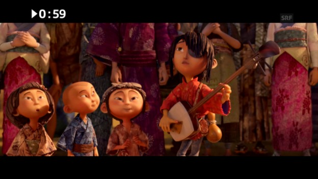 Video «Im Kino: «Kubo and the Two Strings»» abspielen