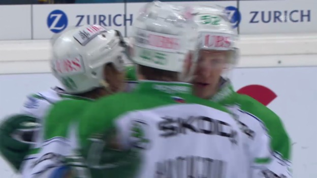 Video «Eishockey: Spengler Cup, Salawat Ufa - Jokerit Helsinki, die Tore» abspielen