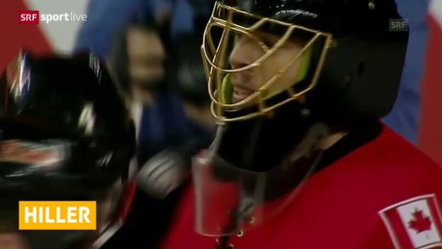 Video «Eishockey: NHL, Playoffs, Spiel 4, Calgary - Vancouver» abspielen