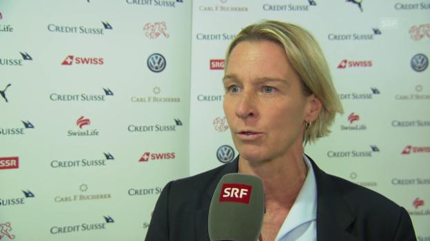 Video «Voss-Tecklenburg: «War ein cooler Moment»» abspielen