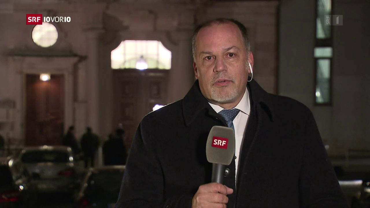 Peter Voegeli zu den Koalitionsverhandlungen
