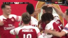 Link öffnet eine Lightbox. Video Arsenal wendet das Blatt gegen Borissow abspielen