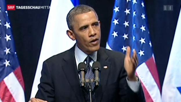 Video «Obama im Nahen Osten» abspielen