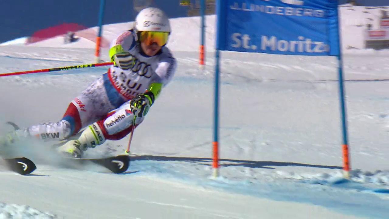 Enttäuschung beim Team-Event in St. Moritz