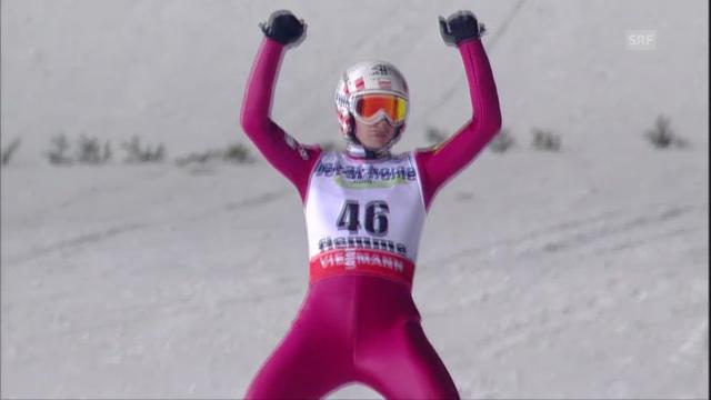 Kamil Stochs 2. Sprung («sportlive»)