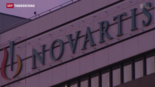 Video «Novartis: Schwieriges Geschäftsjahr» abspielen
