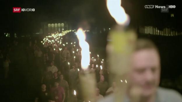 Video «Rechtsextremismus in den USA, Bürgenstock, Giga-Architektur» abspielen
