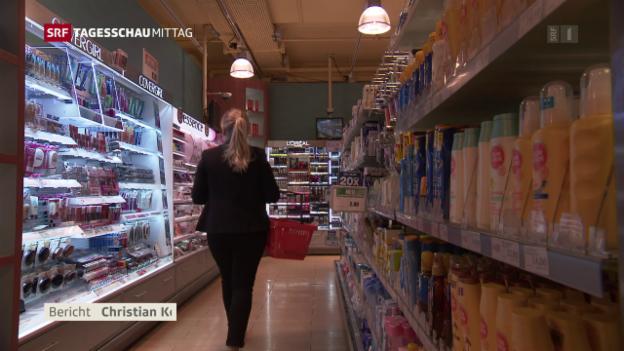 Video «Migros durchzogene Bilanz» abspielen