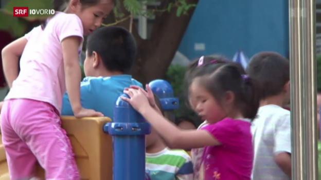 Video «China gibt Ein-Kind-Politik auf» abspielen