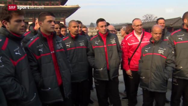 Video «Fussball: Nati auf Erkundungstour» abspielen