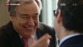 Video «António Guterres als neuer UNO-Generalsekretär nominiert» abspielen