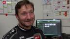 Video «Fussball: St. Gallens Torwart-Trainer Razzetti» abspielen