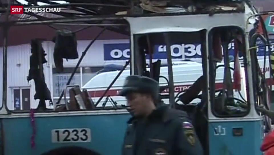 Wolgograd im Bomben-Terror