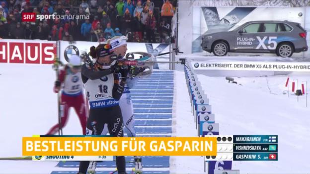 Video «Gasparin mit Saisonbestleistung» abspielen