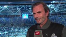 Video «Tennis: US Open 2015, Halbzeitbilanz Heinz Günthardt: «Stan ist einer, der nicht nur ein bisschen aufdrehen kann»» abspielen