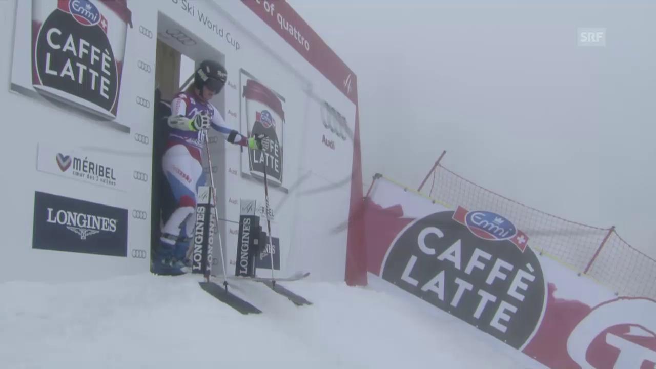 Ski: Weltcupfinale Méribel, Riesenslalom Frauen, 2. Lauf Lara Gut