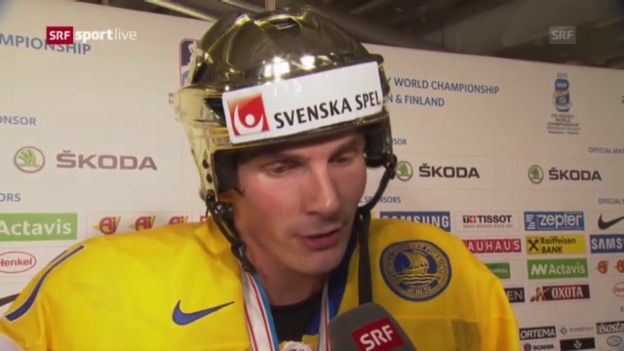 Video «Interview mit Loui Eriksson» abspielen