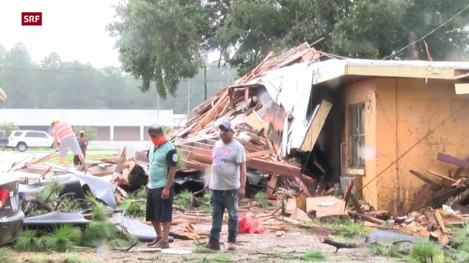 Todesopfer und Stromausfall wegen Hurrikan Ida