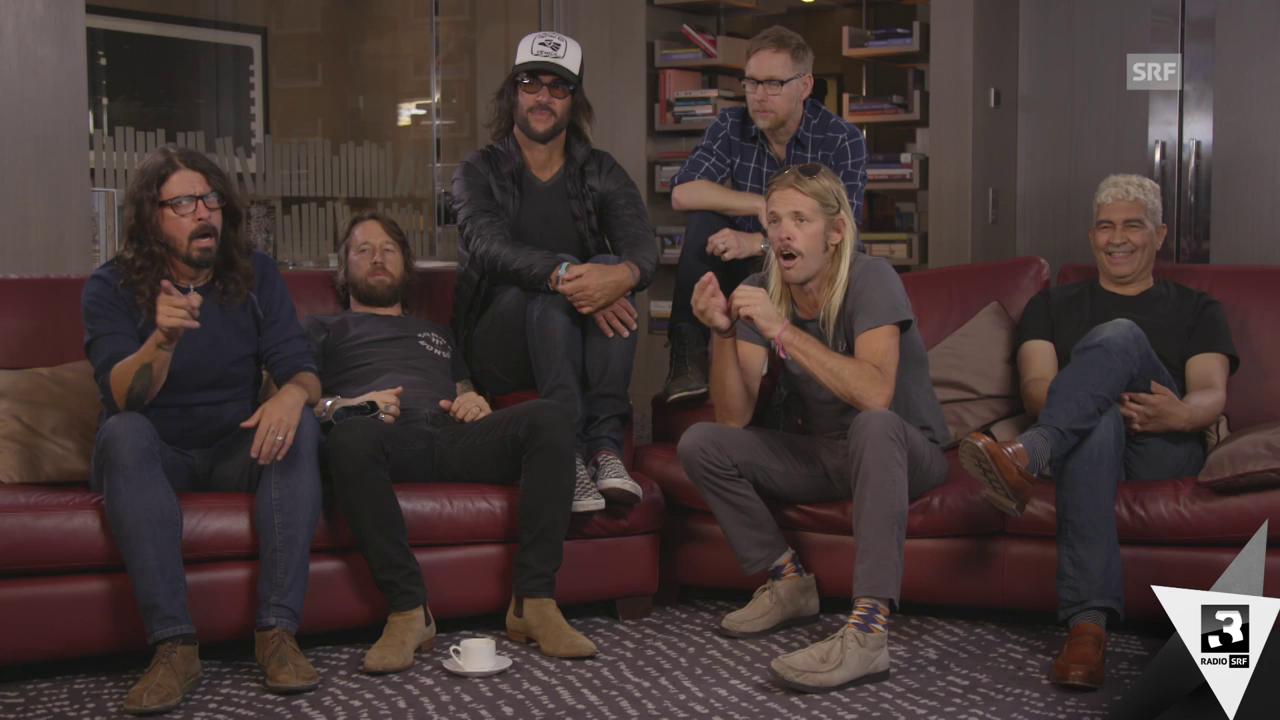 Foo Fighters: «Wir sind niemals besser als AC/DC!»