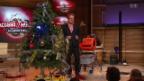 Video «Stefan Heuss: Christbaum schmücken» abspielen