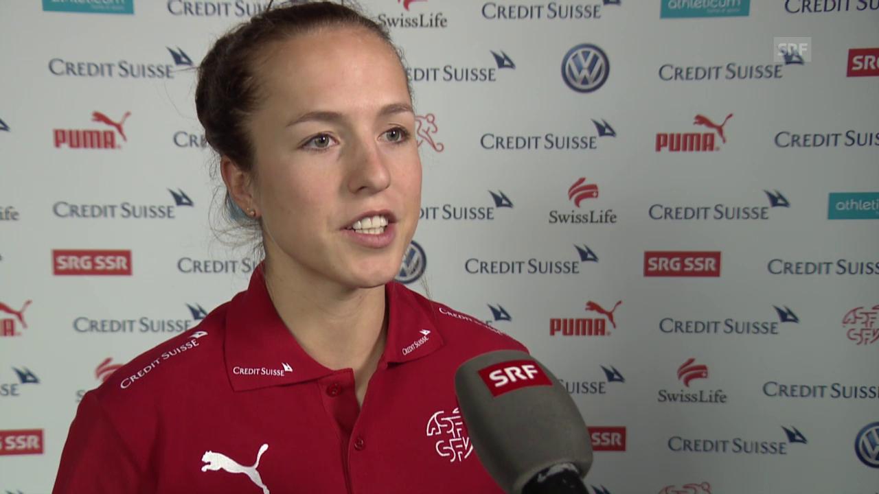 Lea Wälti über eine mögliche Teilnahme am Olympia-Turnier in Rio