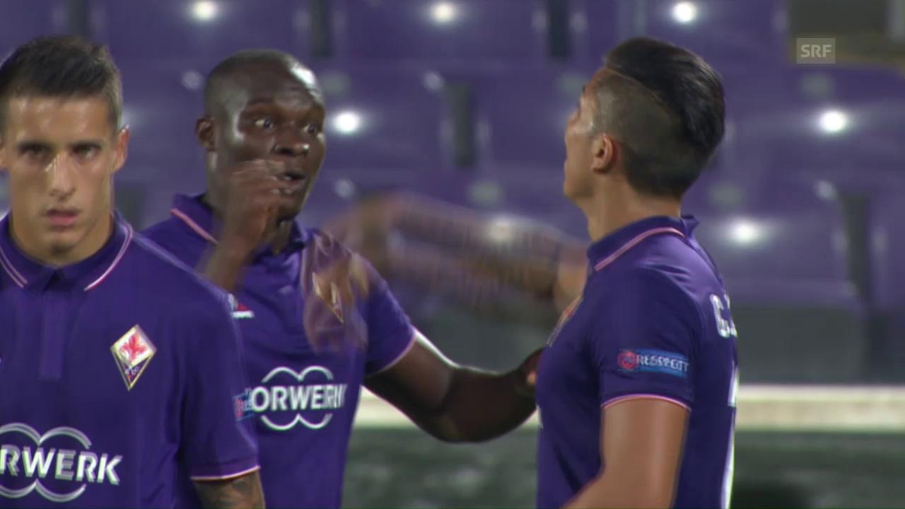 Die Fiorentina demütigt Karabach