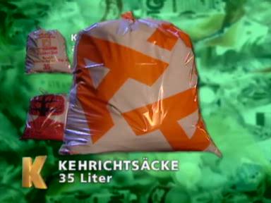 Sackschwache Abfallsäcke