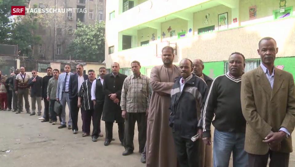 Zweiter Abstimmungs-Tag in Ägypten