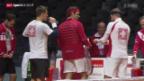 Video «Tennis: Schweiz vor dem Davis-Cup-Final» abspielen