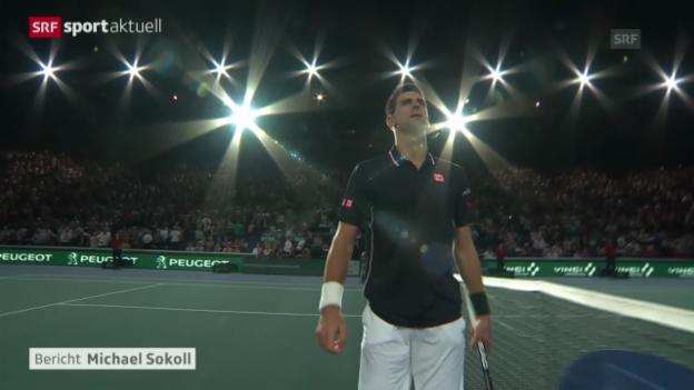 Video «Djokovic und Raonic im Paris-Final («sportaktuell»)» abspielen
