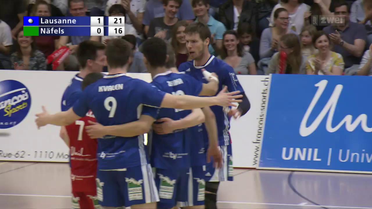 Lausanne legt im Playoff-Final vor