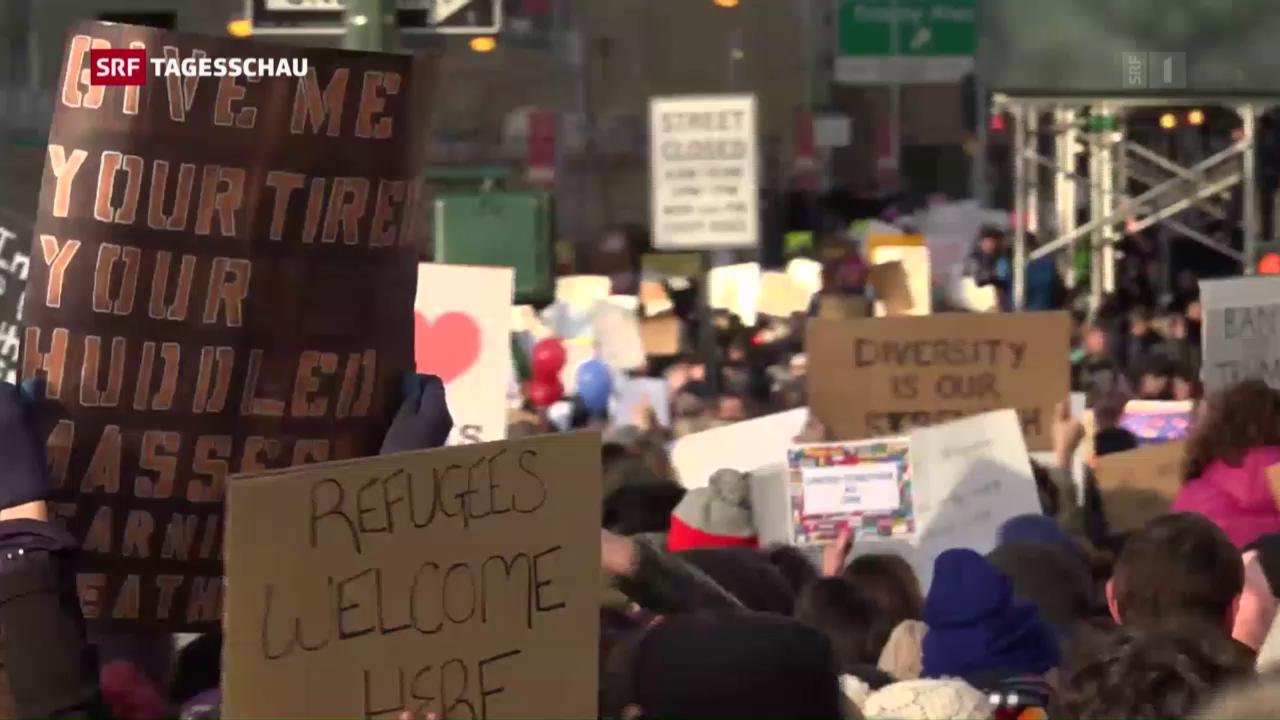 Der Widerstand gegen Trumps Immigrationspolitik nimmt zu