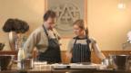 Video «Werner und Myriam bereiten den Teig vor» abspielen