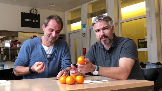 Video ««Trick 77»: Mandarinen kreativ nutzen» abspielen