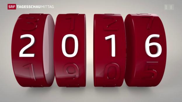 Video «Auf ein Neues – was sich 2016 ändert» abspielen